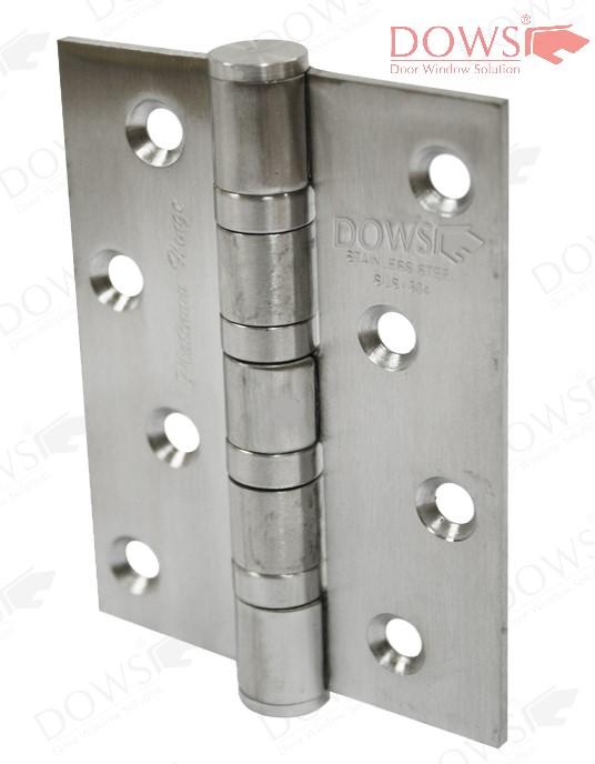 """engsel pintu kaca PLT 4x3.5mm 4bb SSS - Engsel Pintu Kaca - Platinum Hinge SUS 304 PLT 5""""x3x4.0MM-4BB"""
