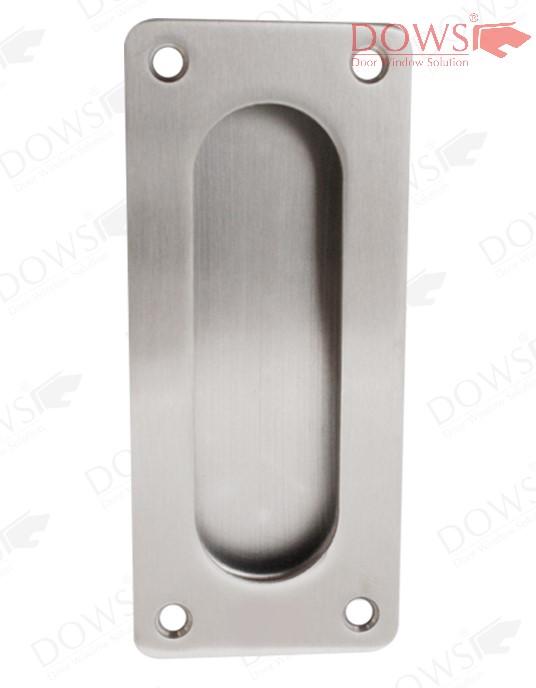 handle kunci pintu geser PP DOWS 180 SSS - Pull Plate SUS 304 PP-DOWS-180