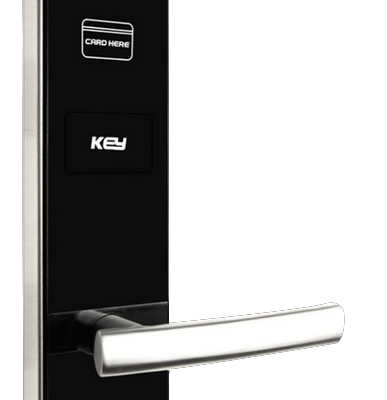 harga handle pintu elektronik DOWS2016E SS RF 272x85mm 387x400 - Kunci Pintu Murah dan Handle Pintu Kayu di Kota Palopo
