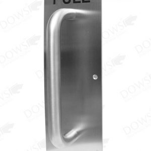Sign Plate SP-DOWS-026 PULL