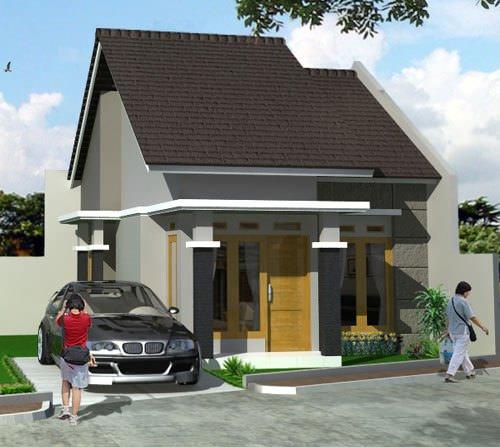 gambar rumah sederhana 12 - 35 Gambar Rumah Sederhana Minimalis Yang Terlihat Mewah