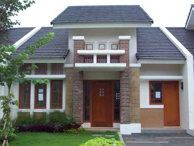 gambar rumah sederhana 24 - 35 Gambar Rumah Sederhana Minimalis Yang Terlihat Mewah