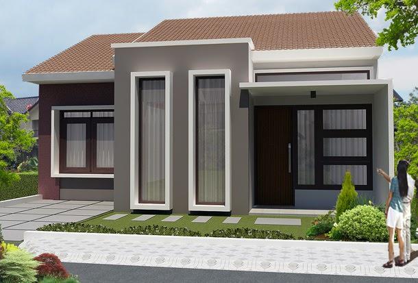 gambar rumah sederhana 8 - 35 Gambar Rumah Sederhana Minimalis Yang Terlihat Mewah