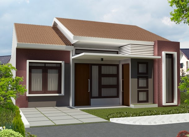 gambar rumah sederhana 9 - 35 Gambar Rumah Sederhana Minimalis Yang Terlihat Mewah