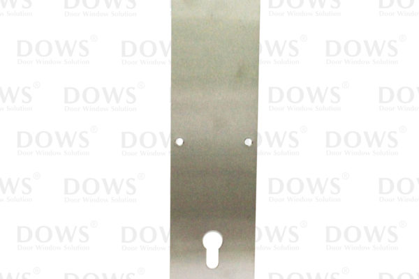 Sign Plate DOWS SP 024 Push SSS (+Hole Cylinder)