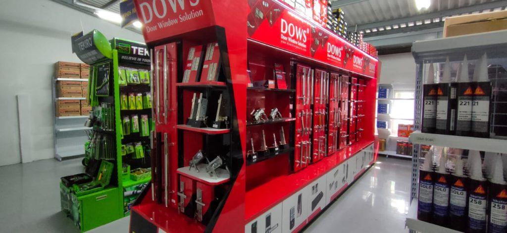 Dows Hardware kini hadir di Plaza Grosir Bangunan Lampung Selatan